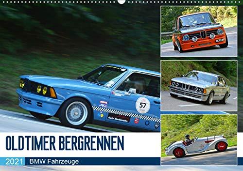 OLDTIMER BERGRENNEN - BMW Fahrzeuge (Wandkalender 2021 DIN A2 quer)