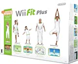 Nintendo Wii Fit Plus con Balance Board, Bianco