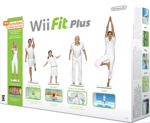 Wii Fit Plus + Balance Board (tabla de equilibrio)