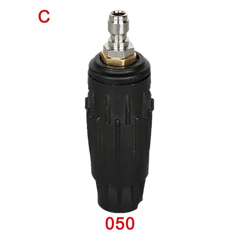 Meet&Sunshine Pressure Washer Spray Nozzle, Rotating Turbo Spray Nozzle 3000 PSI,1/4'' Quick Connect Plug (C)