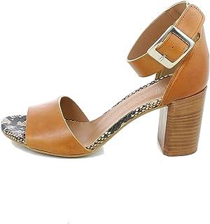 L'ANGOLO CALZATURE - Sandalo a Una Fascia con Cinturino