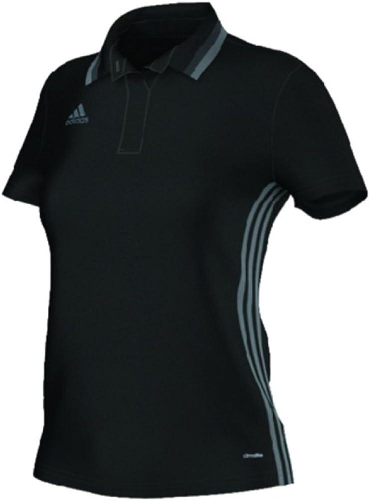 adidas Women's Condivo 16 Womens Soccer Polo Small Black-Vista Grey