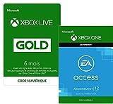 6 Mois Xbox Live Gold + 12 Mois EA Access Xbox Live réunit les joueurs sur Xbox One et sur Windows 10 pour vous permettre de jouer avec vos amis et de vous connecter à une vaste communauté de joueurs. Forgez votre propre légende en déverrouillant des...