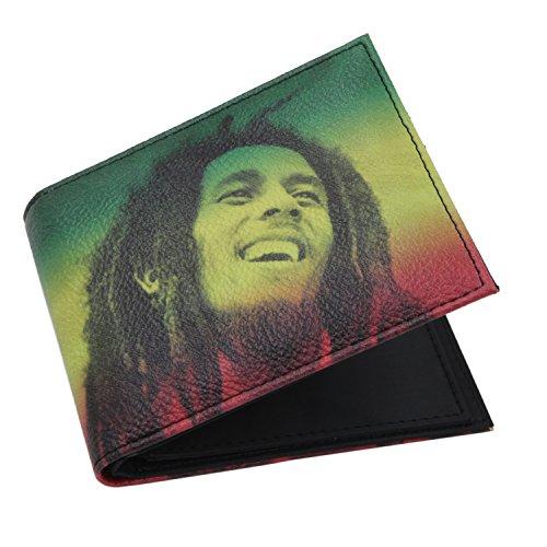 Portafoglio Hip Hop Bob Marley Uomo/Donna (Wallet)