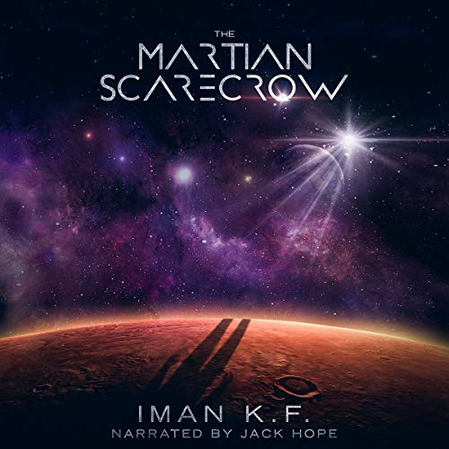 The Martian Scarecrow audiobook cover art