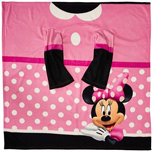 Société du Nord-Ouest de Disney Minnie Dots Confortable Juvénile Couvre-lit, 48 par 121,9 cm