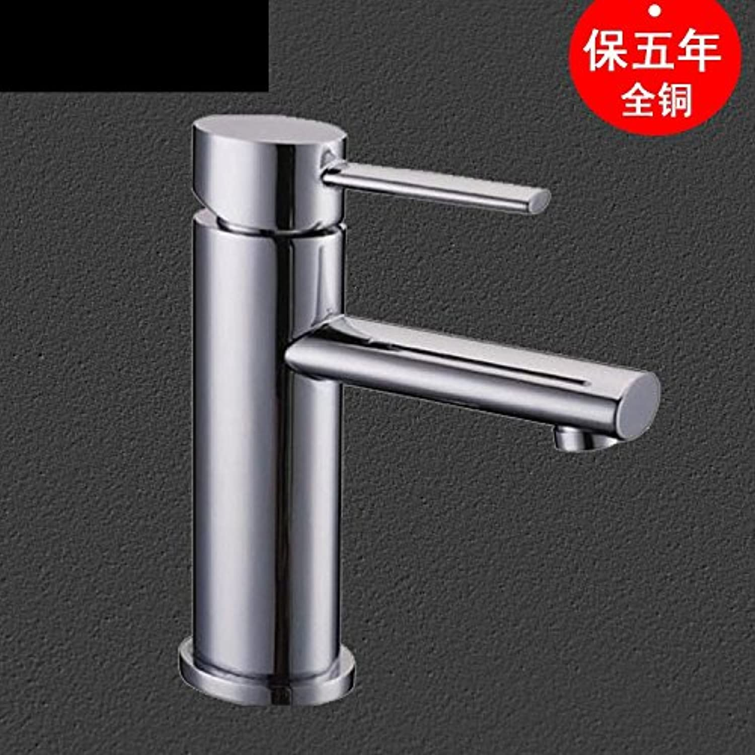 Hlluya Professional Sink Mixer Tap Kitchen Faucet The oval full copper hot and cold lowered vanity area with basin mixer