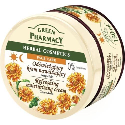 Green Pharmacy Crème de jour rafraîchissante à la fleur de souci 150 ml Sans parabènes