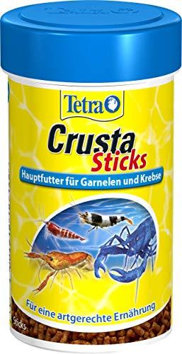 Tetra Crusta Sticks (Hauptfutter für Garnelen, Krebse und Landkrabben, für eine artgerechte Ernährung, 100 ml)