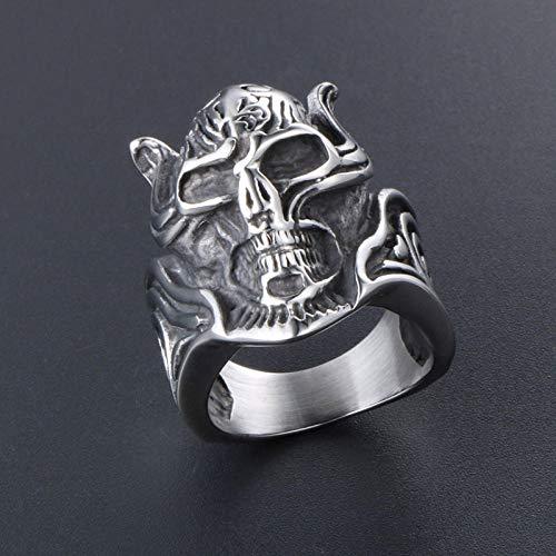 KCDY Wolf Zahnzahn Titan Stahl Ring Zeigefinger Ring Übertreibung verblasst nie super schöne Fetisch Zubehör SA411-Mei Wai 9
