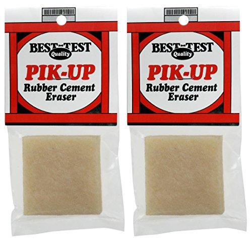 2-PACK - Pik-Up Rubber Cement Eraser