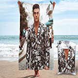 CNSHEO Ethan Dolan Adults Printing Microfiber Quick Dry Towel,Suitable for Camping,Gym,Beach,Home 31.5'x63'