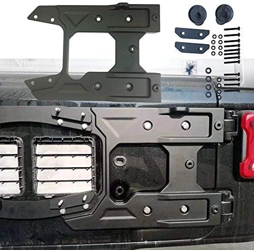 Lantsun Spare Tire Carrier Tailgate Bracket Hinge Reinforcement Kits Oversized for 2018 2019 product image