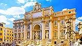 Rompecabezas, rompecabezas de madera clásicos -Roma, juego de rompecabezas para niños adultos Regalo sobre desafío Rompecabezas de juguete-500 piezas (52x38cm)