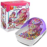 Orbeez Luxury Soothing Waterfall Spa, Purple Edition | Deluxe Relaxing Massage Playset with Pack of 3,500 Squishy Absorbent Rainbow Water Beads | Soothing Real Spa Feel | Removable Hand and Foot Bowls