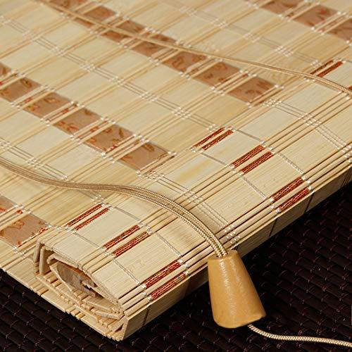 Zyfa Rollo boot met stokjes, bamboe, voor ramen – rolgordijn van bamboe, kijkvenster