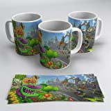 Taza Plants vs Zombies (Cementerio)