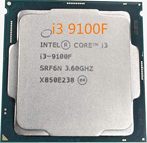 Price comparison product image i3-9100F Processor CPU i3 9100F 4Core 4Thread 3.6GHz 6MB Socket LGA1151