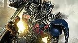 LIANXI Adulto Puzzle 1000 Piezas-XXL 75 * 50Cm,Transformers 4: Renacimiento De La Extinción, Niños Adultos Rompecabezas De Juguete Educativo Rompecabezas 1000 Piezas Regalos Creativos Hechos A Mano
