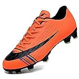 VTASQ Zapatillas de Fútbol Hombre Profesionales Training Spike Aire Libre Atletismo Zapatos de Entrenamiento Botas de Fútbol Ligero Antideslizante...