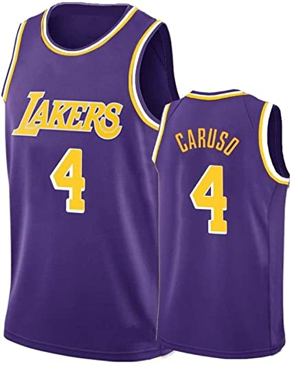 Mens 4# Alex-Caruso, Los Angeles Lakers, Basketball Jersey, XS-XXL ...