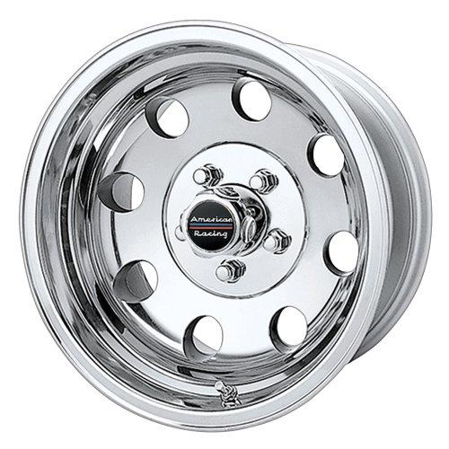 American Racing Custom Wheels AR172 Baja Polished Wheel (17x8'/6x139.7mm, 0mm offset)