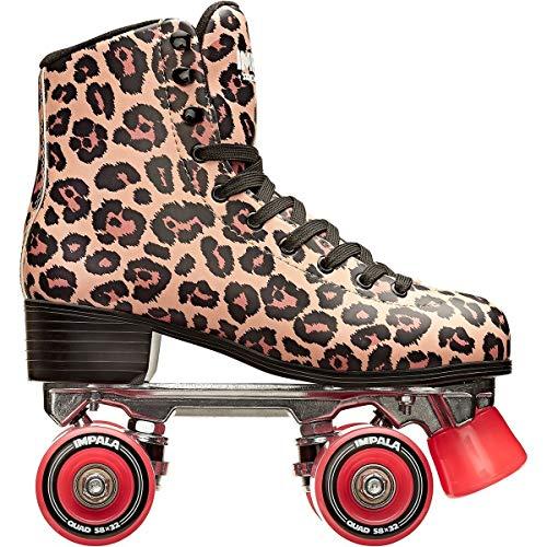 Impala Sidewalk Skates Rollerskates Quad Leopard US 7
