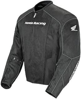 Joe Rocket Honda Men's CBR Mesh Motorcycle Jacket black/black small