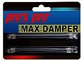 Pro Pros Max Damper Antivibrazioni per Corde 2 Pack Nero