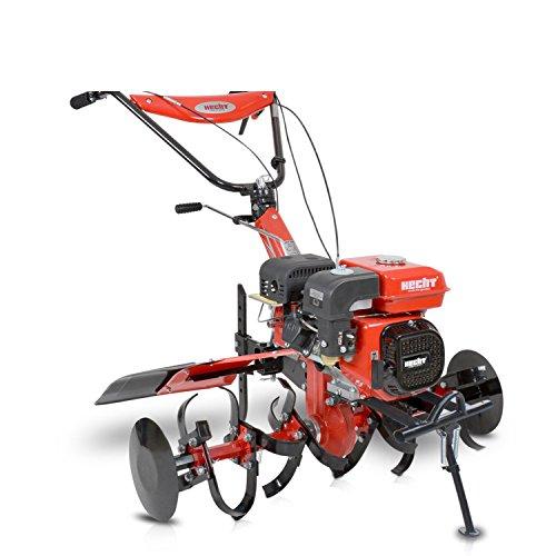 HECHT Benzin-Gartenfräse 7100 Gartenhacke Motor-Hacke (ca. 812 - 1042 mm Arbeitsbreite, 3 Vorwärts- / 1 Rückwärts- gang)