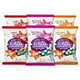 Bohana Variety Pack, 6 Pack | As Seen On Shark Tank, Try All Three Flavors | All Natural Non-GMO Nutritious Super Snack | Pink Himalayan Salt, Soulful Sriracha Spice, White Cheddar (2oz Bags, 6-Pack)