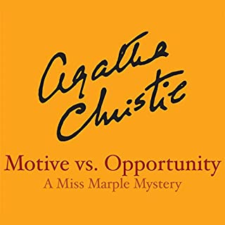 Motive vs. Opportunity audiobook cover art