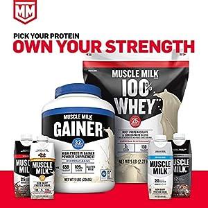 Muscle Milk Pro Series Protein Powder, Intense Vanilla, 50g Protein, 2.54 Pound, 14 Servings