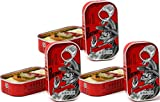 Spiced Sardines in hot olive Oil 3 tins x 125 g, Porthos / Portugal