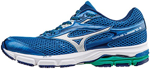 Mizuno Shoes Running Officially Wave Legend 3 J1GC151005 Royal Argento Verde Scuro Size 44.5 SHIPPED FROM ITALY