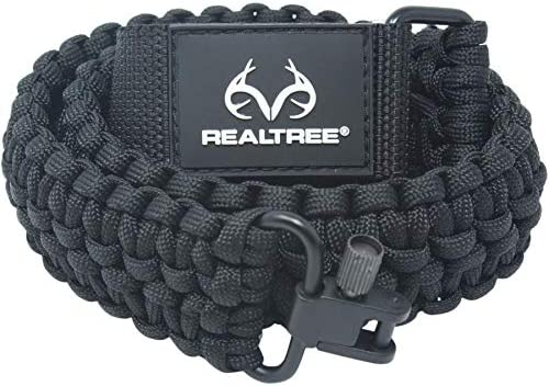 Ten Point Gear Realtree Paracord Gun Sling 550 Adjustable w Swivels and Adapter Officially Licensed product image