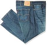 Levi's Men's Big and Tall Big & Tall 502 Regular Taper Fit Jeans, Rosefinch, 44W x 29L