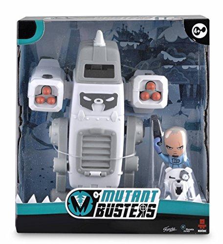 Mutant Busters - Metal Ice y David Snow, Figuras de acción (Famosa 700012151)
