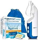 New! 2020 Model Mypurmist Free Ultrapure Handheld Personal Vaporizer and Humidifier (Cordless), Premium Kit