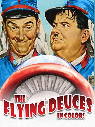 The Flying Deuces IN COLOR [OV]