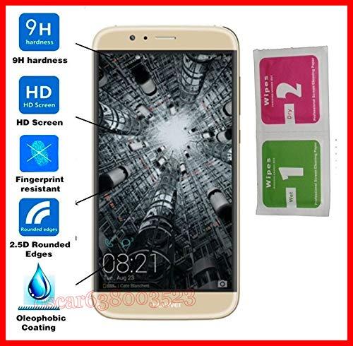 MUNDDY Protector de Pantalla para Huawei Ascend G8 Cristal Vidrio Templado Premium Calidad,Espesor 0,30 mm,2.5D Round Edge,[9H Dureza] [Alta Transparencia] [Sin Burbujas]