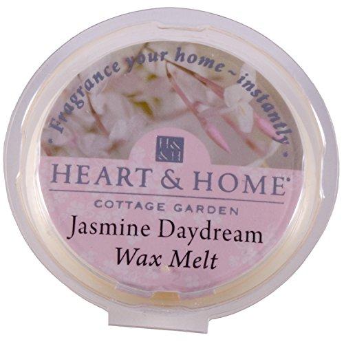 Heart & Home Tartelette de cire Fondue Parfum de Maison – Jasmin