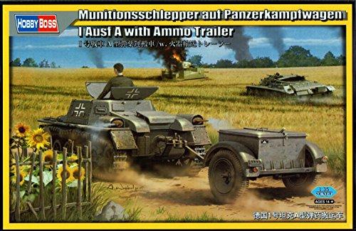 Hobby Boss 80146 – Modèle Kit munitions schlepper sur Panzer I Ausf A with munitions Trailer