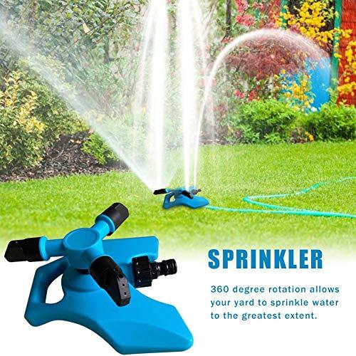 heling896 Lawn Sprinkler, Automatic Garden Water Sprinklers Sistema De...