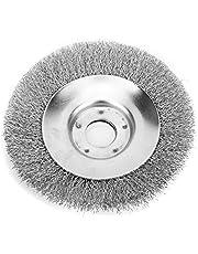 Rueda de deshierbe, cortadora de alambre de acero de 0.5 mm, alambre retorcido, cepillo duradero, no se oxida, accesorios para la podadora de césped para eliminar óxido, suciedad, pulido de musgo