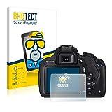 BROTECT Protector Pantalla Anti-Reflejos Compatible con Canon EOS 1200D (2 Unidades) Pelicula Mate Anti-Huellas