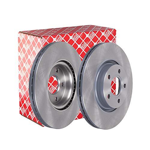 febi bilstein 24566 Brake Disc Set (2 Brake Disc) front, internally ventilated, No. of Holes 5