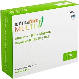 Animafort MULTI Cápsulas Vegetales con Afron®. 5-HTP. Magnesio y Vitaminas B