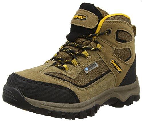 Hi-Tec Unisex-Kinder Hillside Waterproof Junior Trekking-& Wanderhalbschuhe, Braun (Smokey Brown/Gold 041), 38 EU (5 UK)