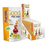 Photo Gallery fruittella good for you mix sport bio, snack di frutta secca e disidratata biologico - 20 pacchetti monodose da 32 gr